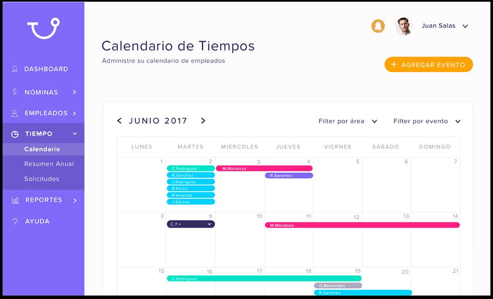 Software para PYMES de cálculo de nómina - Runa